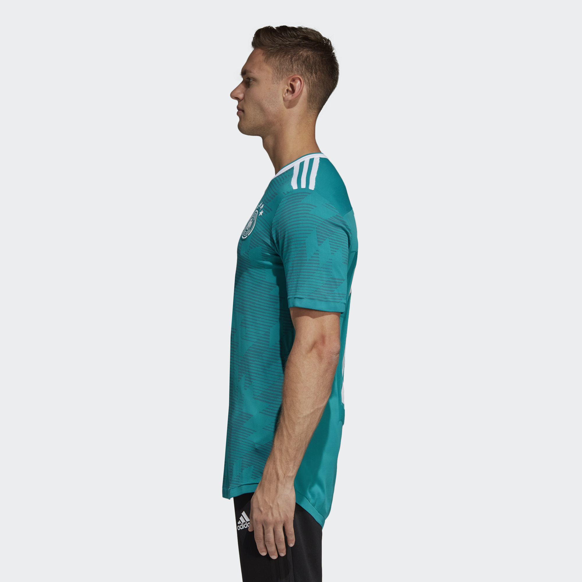 425cd67ae Germany 2018 Adidas Primeknit Away Shirt - Eqt Green   Real Teal   White