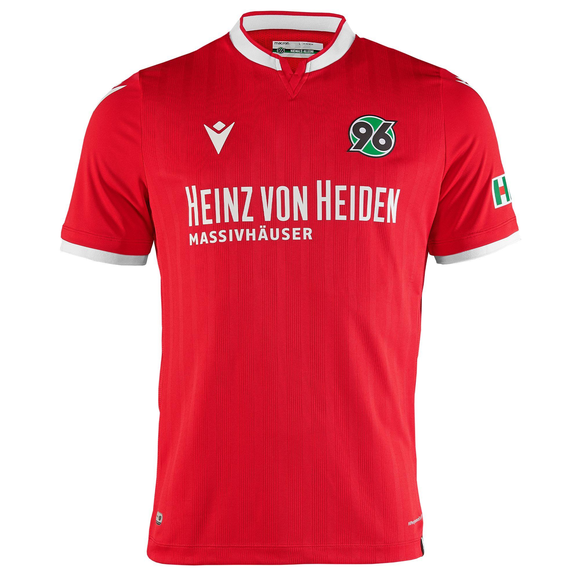 Hannover 96 2020-21 Macron Home Kit | 20/21 Kits ...