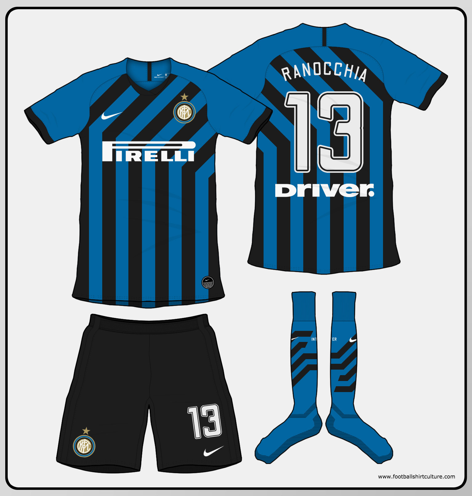 huge discount bfc6e e5614 Inter Milan 2019-20 Home Kit Prediction | Kit design ...