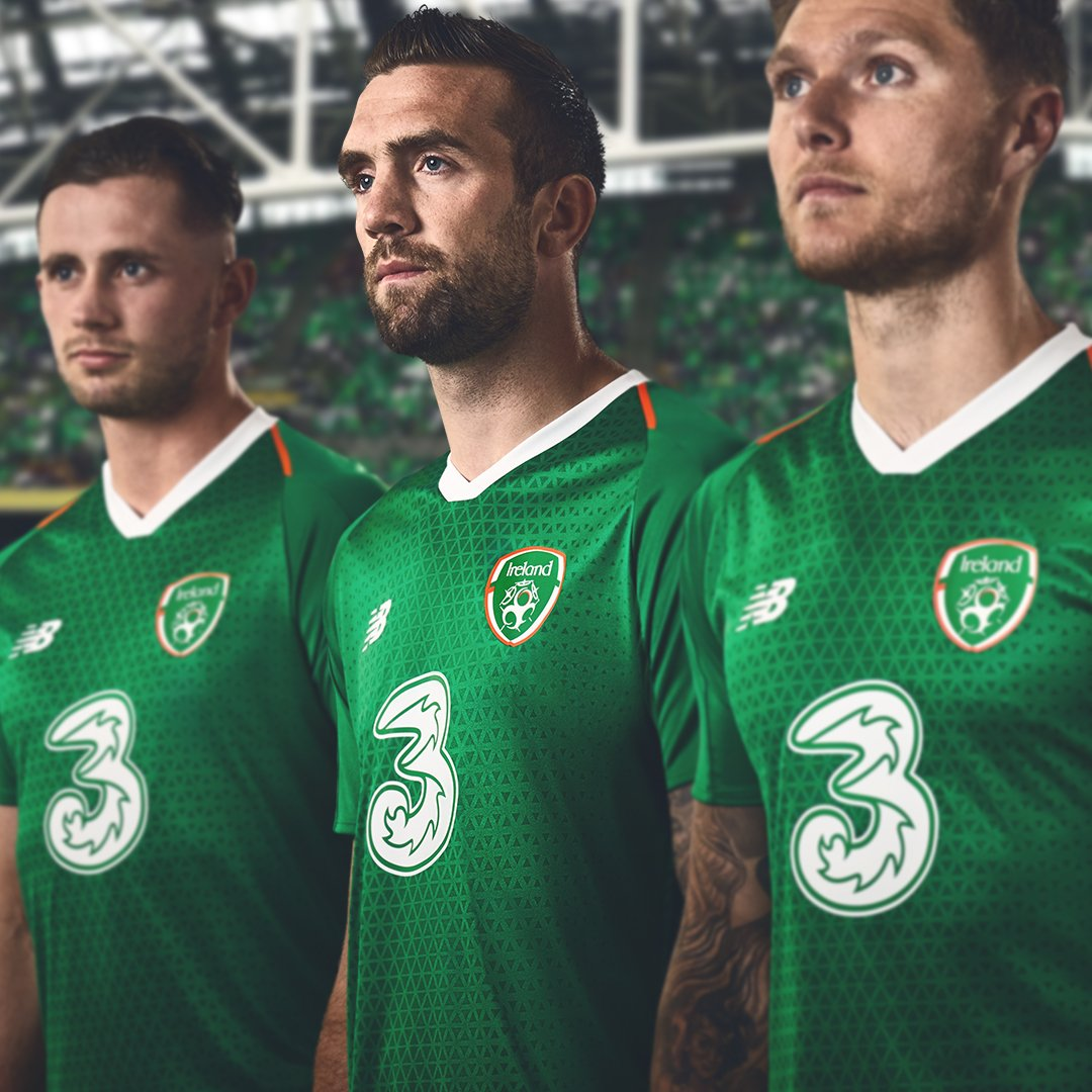 Ireland 2018 19 New Balance Home Kit 18 19 Kits