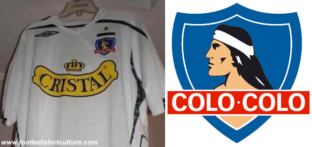 This is te new Colo Colo 08/09 home shirt made by umbro