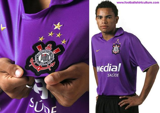 Nike officially launched the new Corinthians 3rd away kit for the 08/09 season.