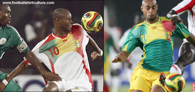 These are the new Mali home and aeay shirts for the 08/09 season and African Cup of Nations 2008 made by Airness.