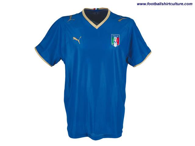 New Italy home kit 08/09 season and Euro 2008 made by Puma
