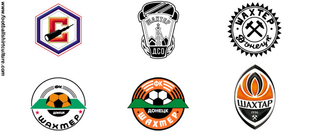 Shakhtar crest history