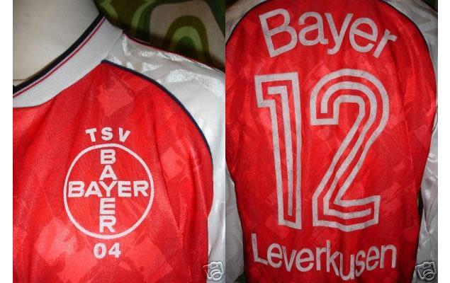 Ebay : Vintage 1990/92 Bayer Leverkusen adidas shirt ...