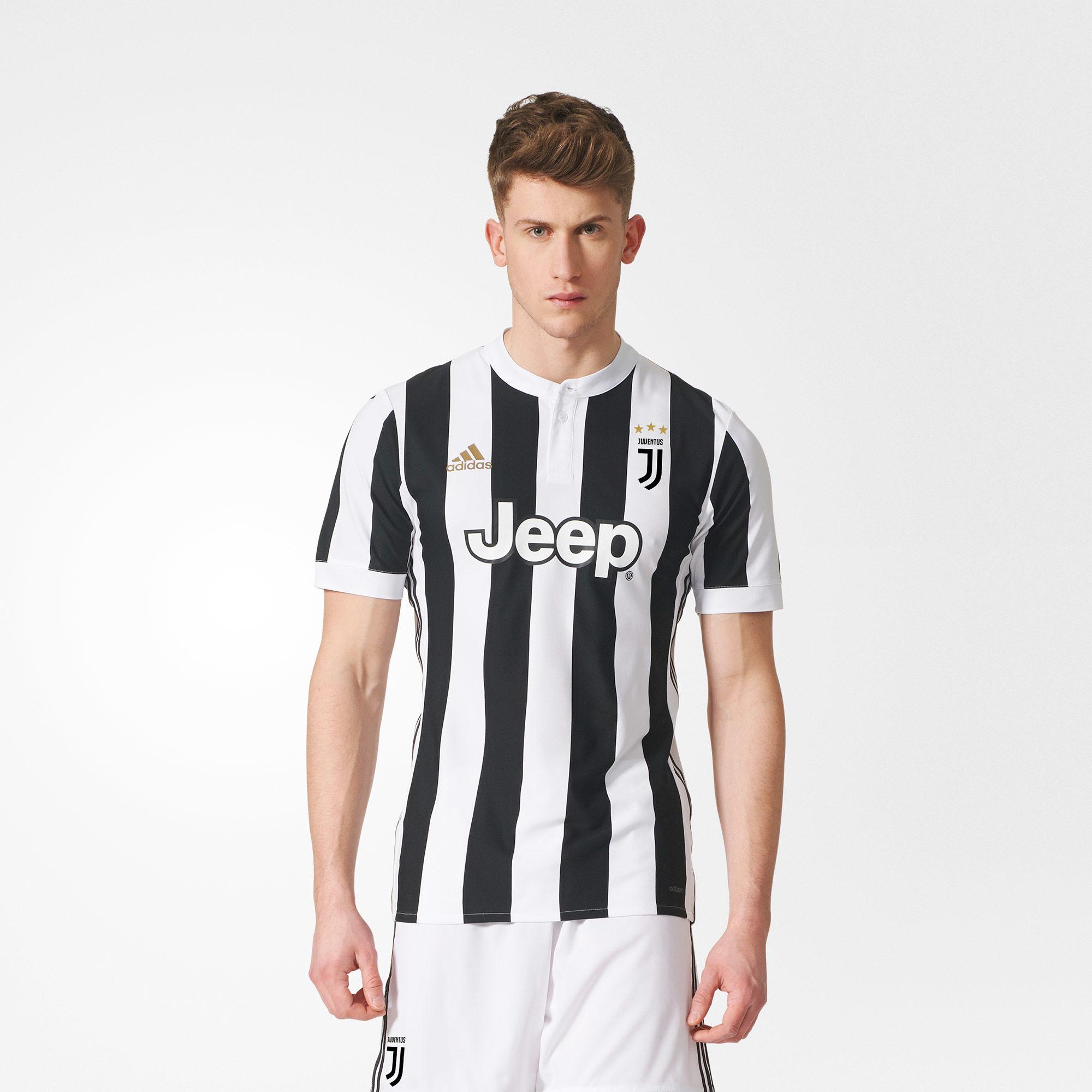 Juventus 2017-18 Adidas Home Kit | 17/18 Kits | Football ...