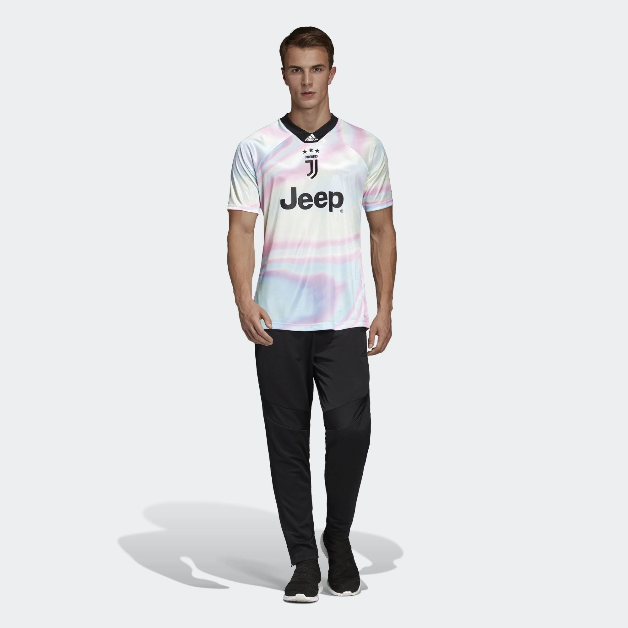 low priced e61ae f3aac Juventus X Adidas X Fifa 19 Digital Fourth Kit | 18/19 Kits ...