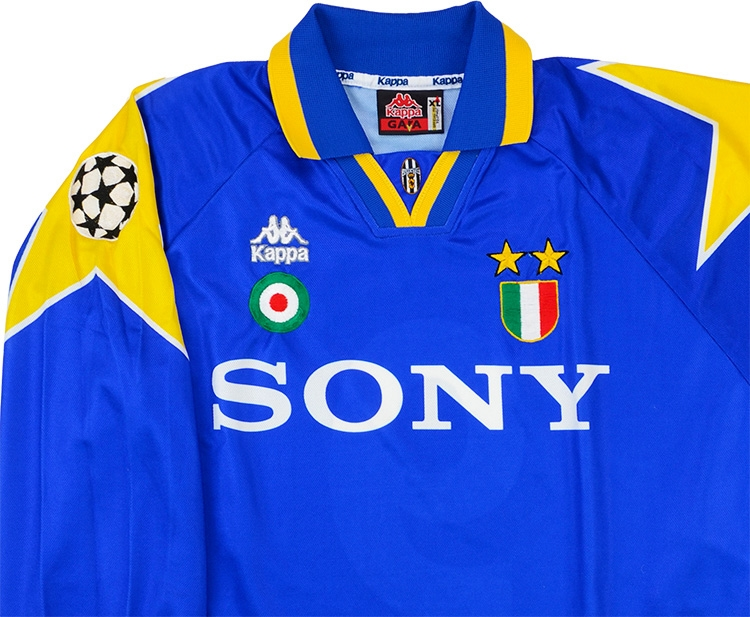 48d48db89 ... Click to enlarge image  kappa 1995 96 juventus match issue champions league final away shirt c.jpg