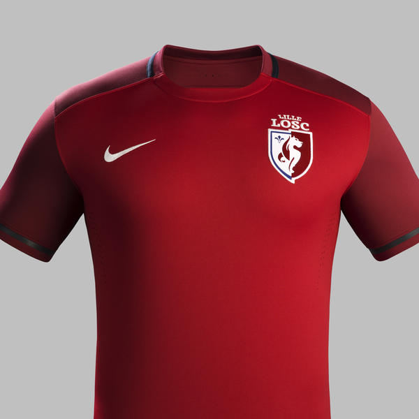 Lille OSC 15 16 Nike Home Football Shirt  a16349ab1