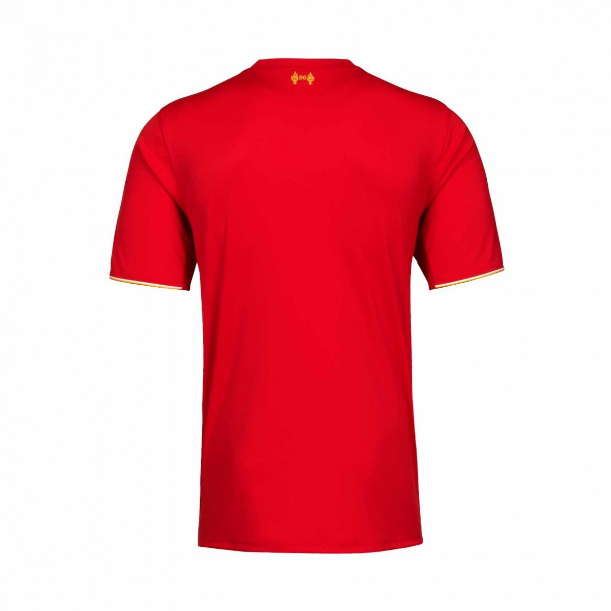 huge discount 1b371 cece9 Liverpool 15/16 New Balance Home Football Shirt | 15/16 Kits ...