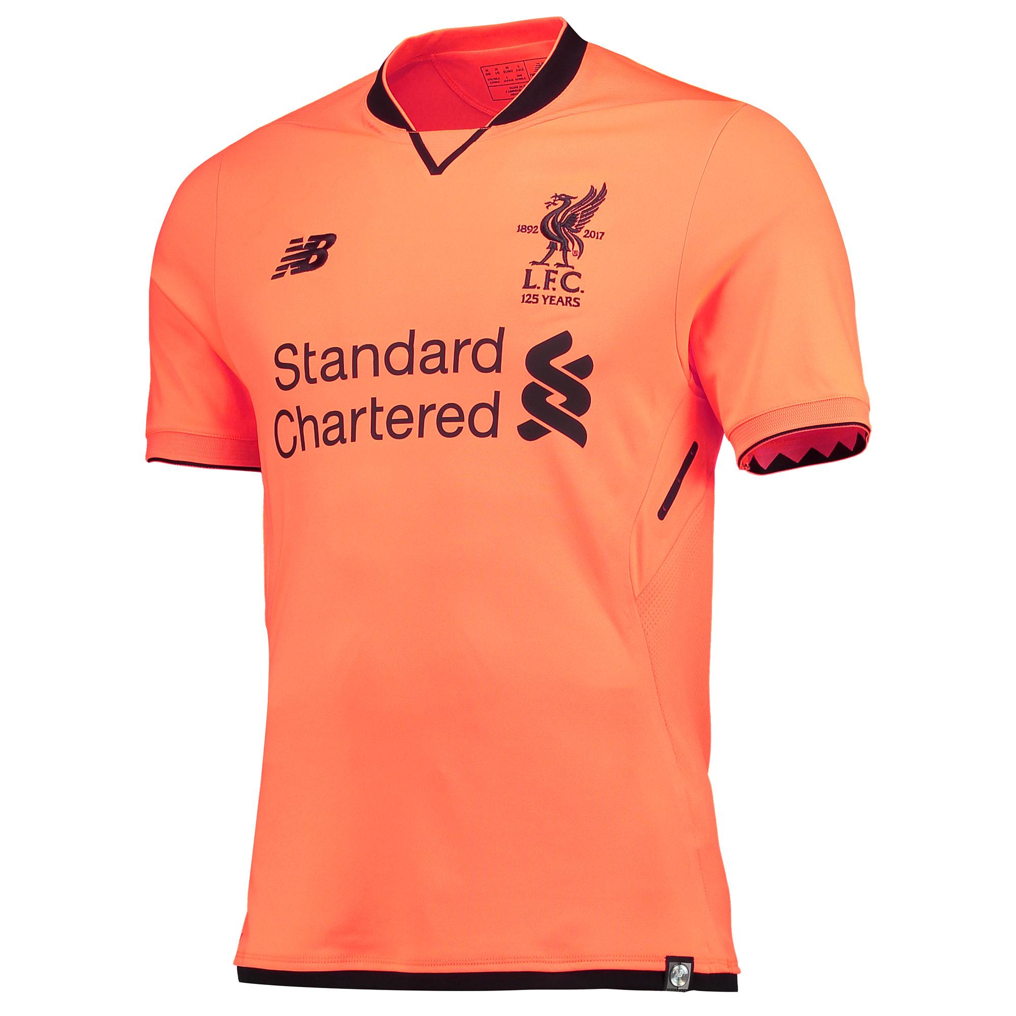 classic fit 188c1 55cf5 Liverpool 17/18 New Balance Third Kit | 17/18 Kits ...