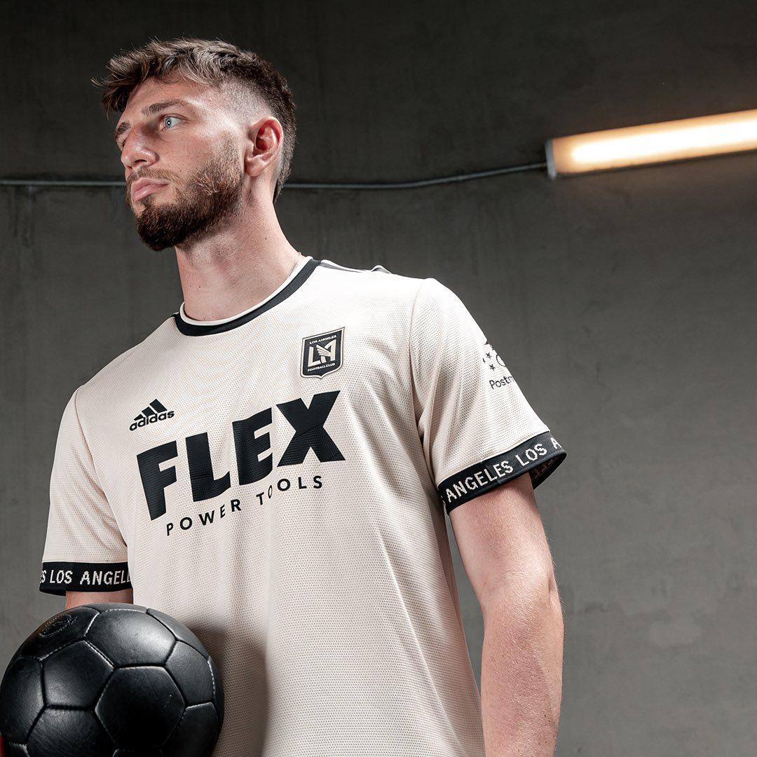 Los Angeles FC 2021-22 Adidas Away Shirt   20/21 Kits   Football ...