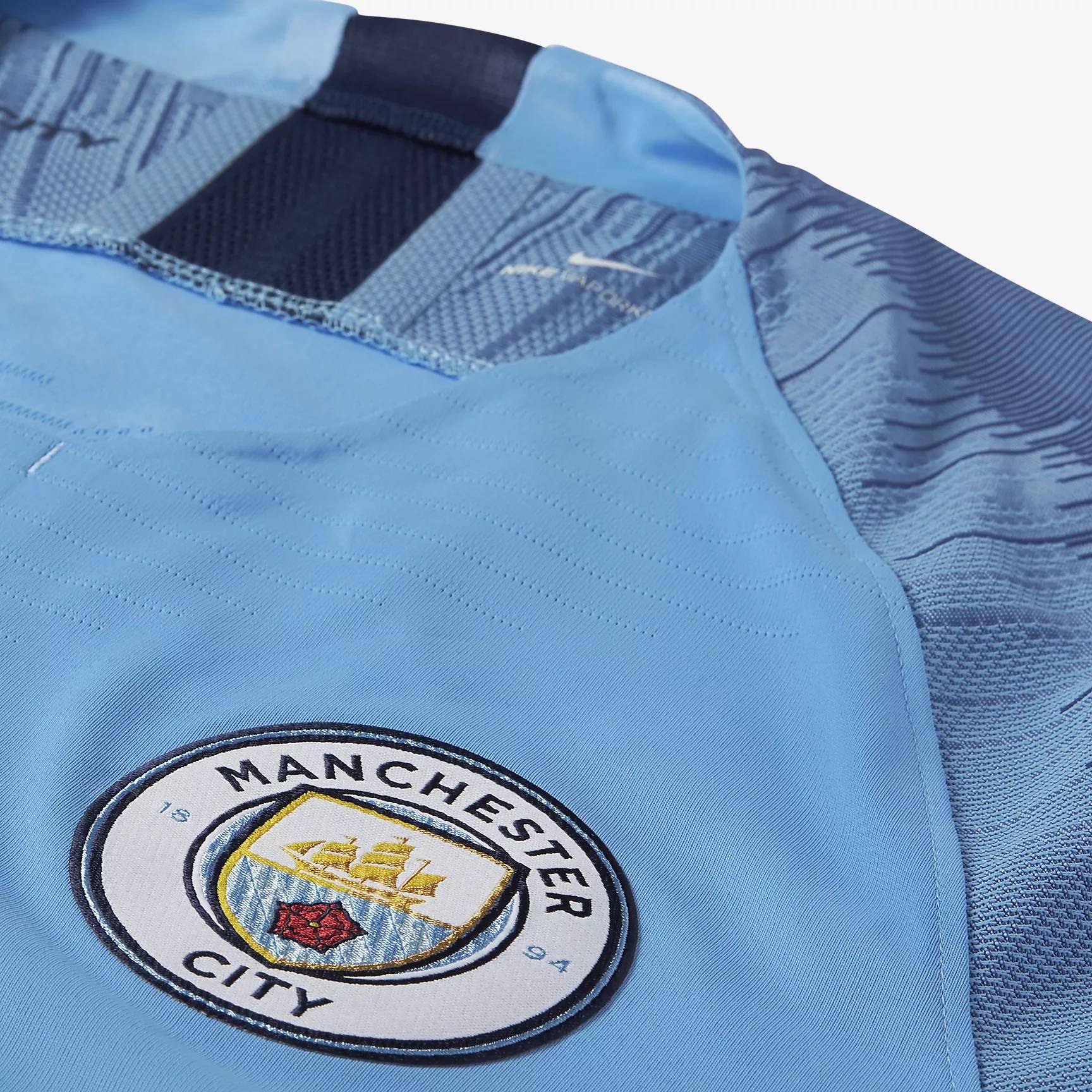 Manchester City 2018-19 Nike Home Kit | 18/19 Kits