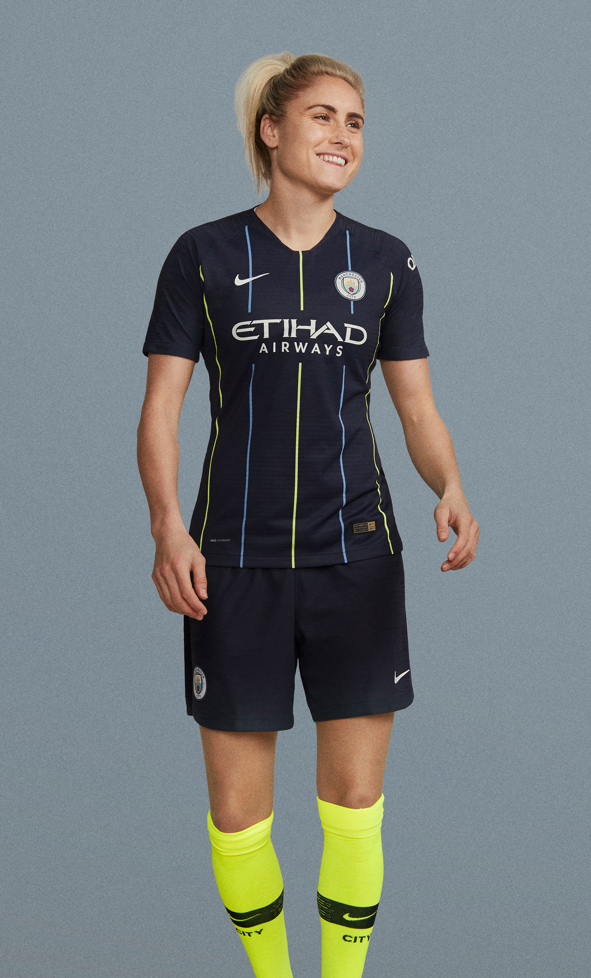 new concept bcfd3 0f60b Manchester City 2018-19 Nike Away Kit | 18/19 Kits ...