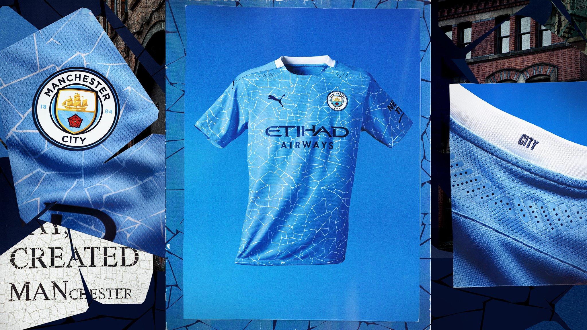 Manchester City 2020-21 Puma Home Kit | 20/21 Kits ...