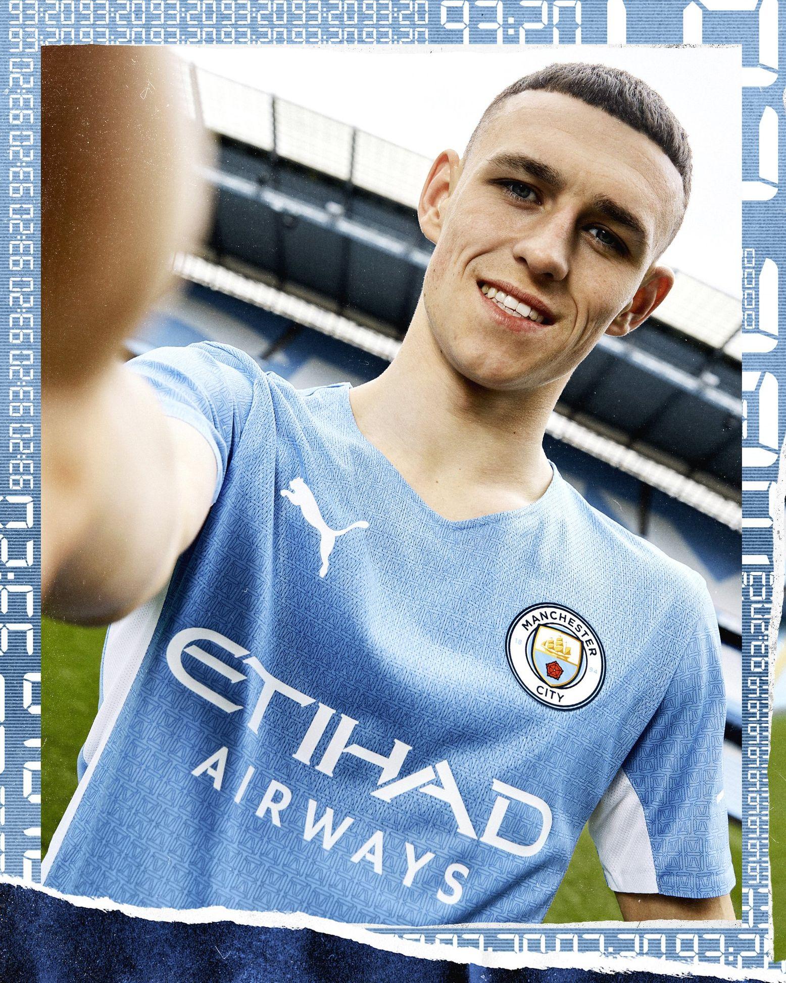 Manchester City 2021 22 Puma Home Kit 21 22 Kits Football Shirt Blog