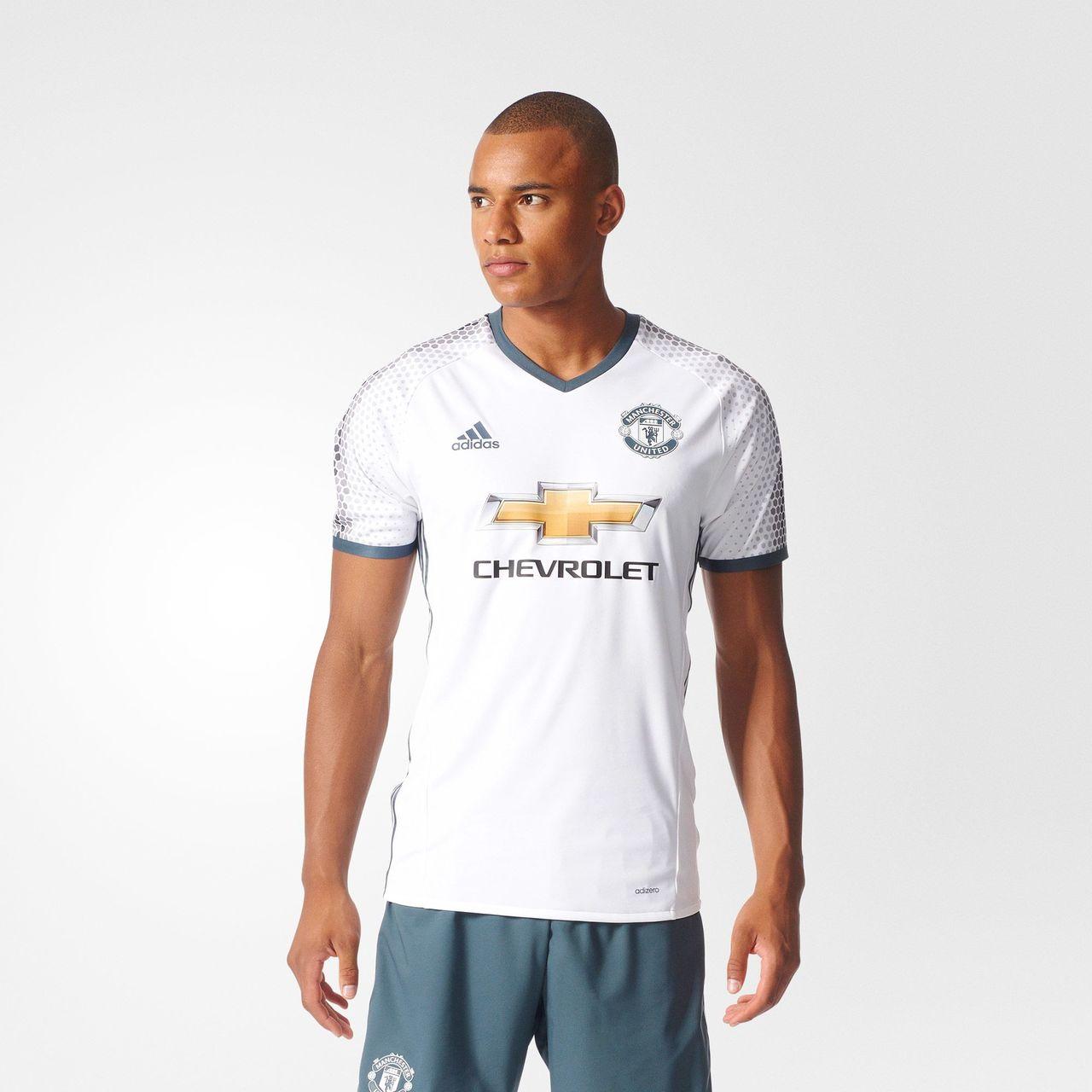 Manchester United 16 17 Adidas Third Kit 16 17 Kits Football Shirt Blog
