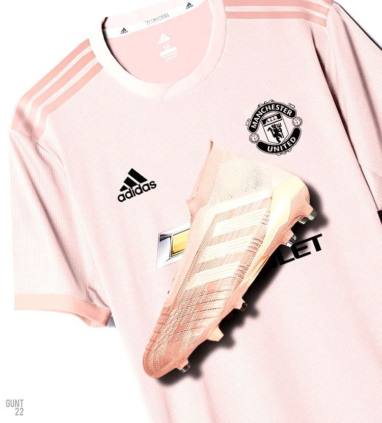 the latest a6af6 30428 Manchester United 2018-19 Adidas Away Kit | 18/19 Kits ...
