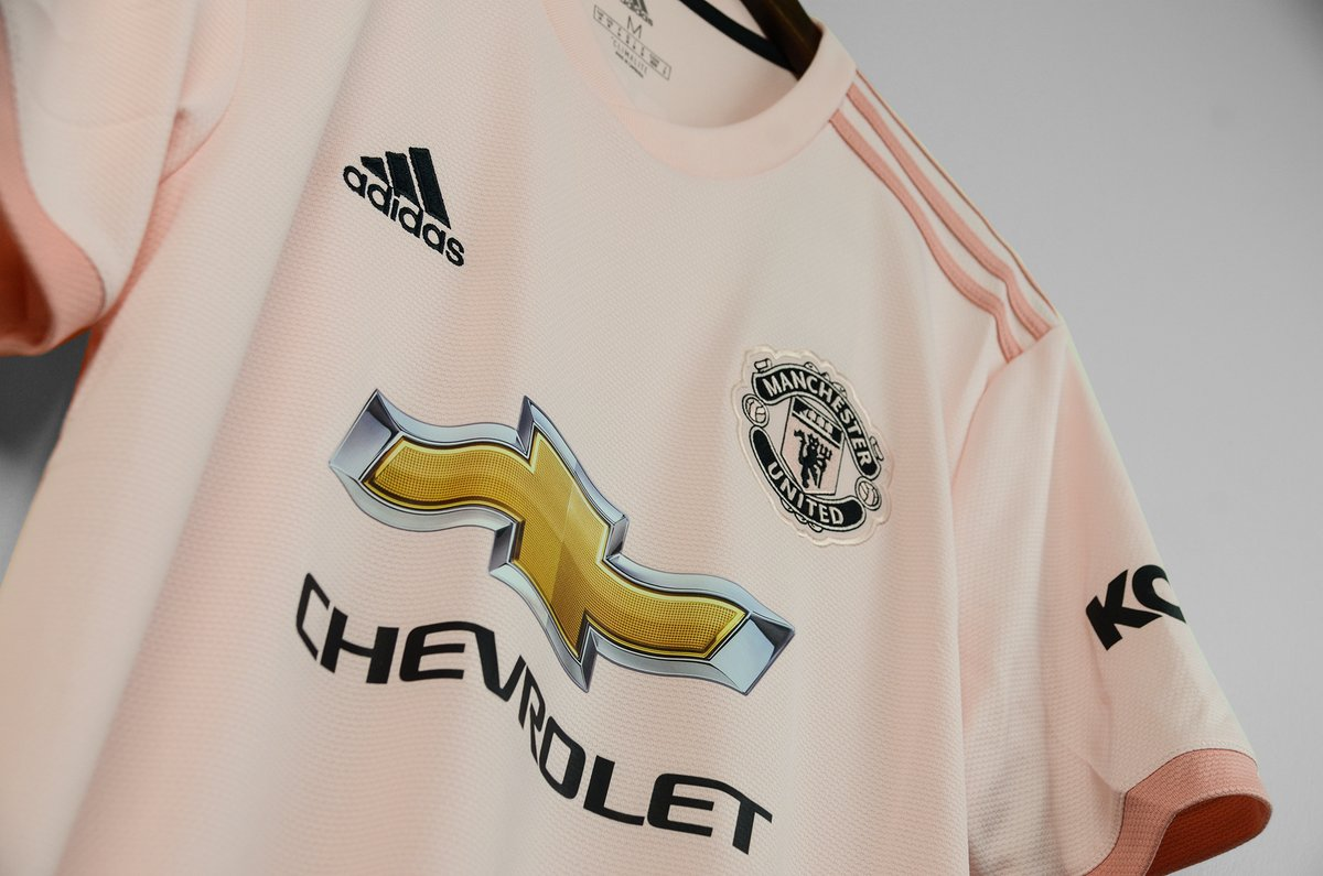 b8761218fa4 Manchester United 2018-19 Adidas Away Kit | 18/19 Kits | Football ...