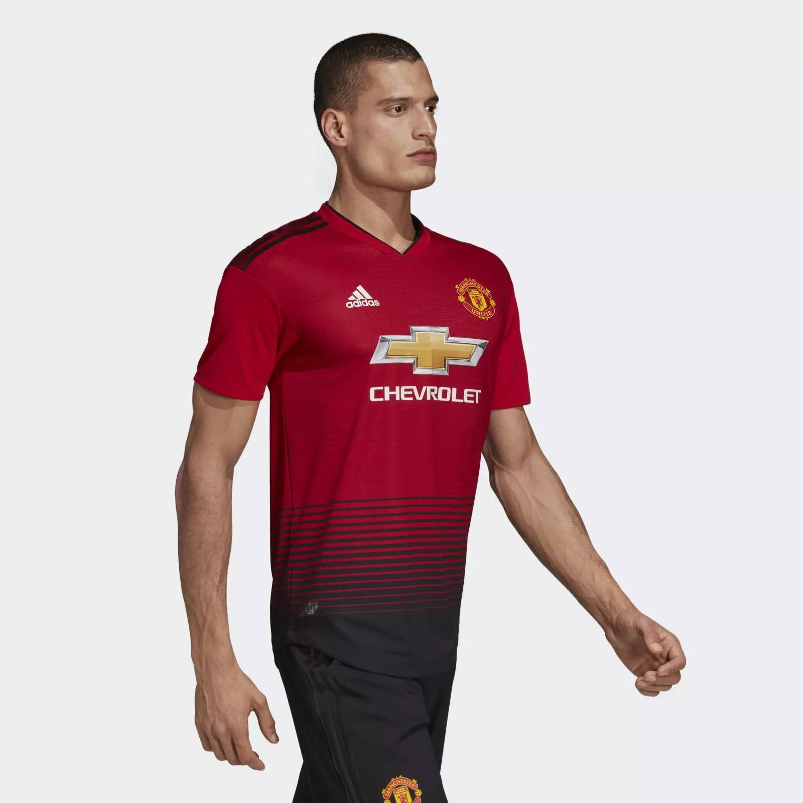 Manchester United 2018-19 Adidas Home Kit | 18/19 Kits ...
