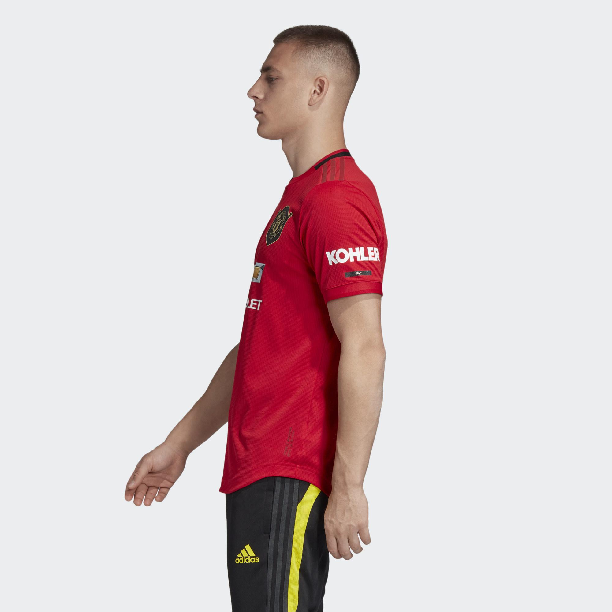 Manchester United 2019-20 Adidas Home Kit | 19/20 Kits