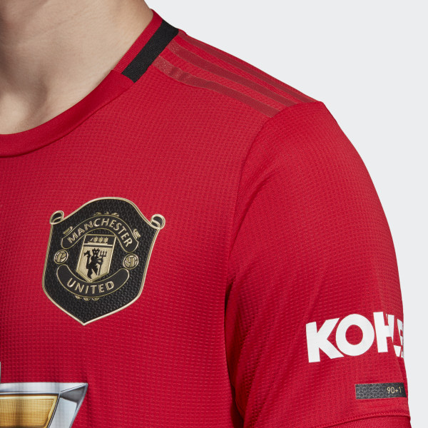 timeless design b34df dca9c Manchester United 2019-20 Adidas Home Kit | 19/20 Kits ...