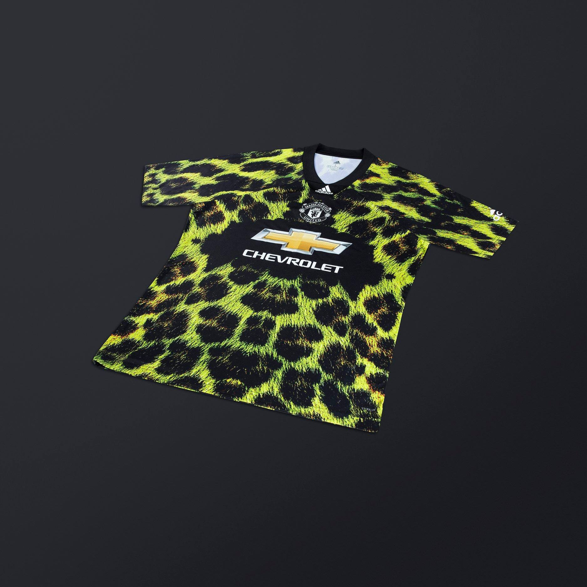 Manchester United X Adidas X Fifa 19 Digital Fourth Kit 18 19 Kits Football Shirt Blog
