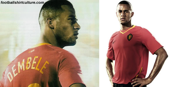 During the friendly match against Morocco on March 26 the Belgium team will wear their new home kit for the first time..
