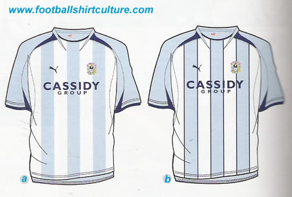 Coventry City 08/09 Puma 125th Anniversary shirt vote