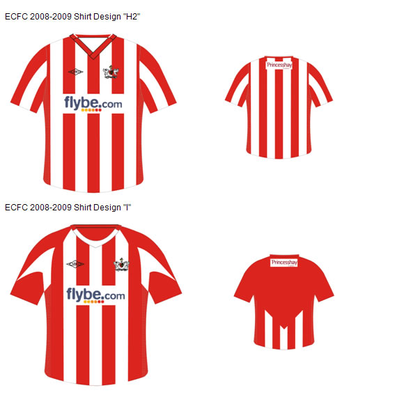 The list was whittled down to five designs and now supporters are being encouraged to vote on their favourite strip.