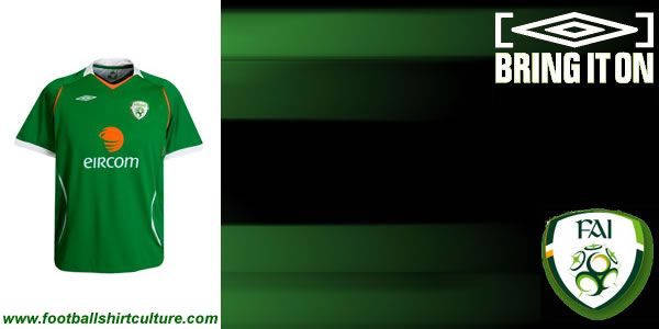 Umbro launch new Ireland home kit