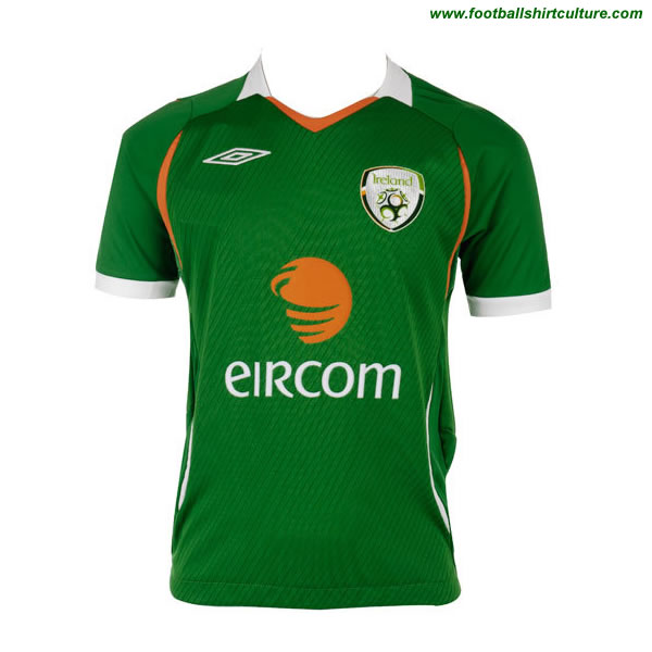 new Umbro 2008 Ireland home shirt