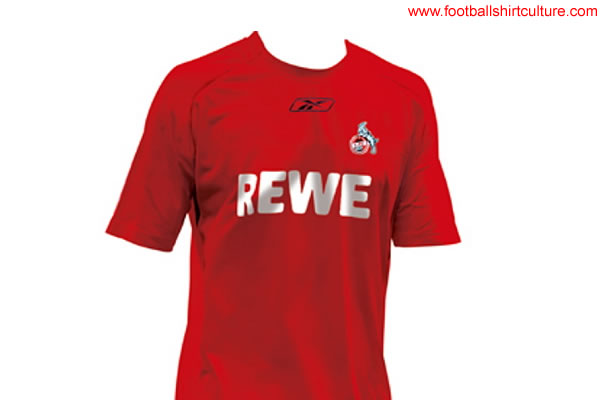 1. FC Köln will change the shirt manufacturer on their kits from Adidas to Reebok for the new 2008/2009 season but for the fans, there is a more important question. What is the shirt of FC Köln going to look like?