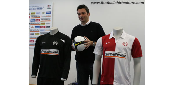 Mainz 05 and Nike have announced a long-term partnership. From the 2008/09 season acts as a Nike official supplier of Mainz.
