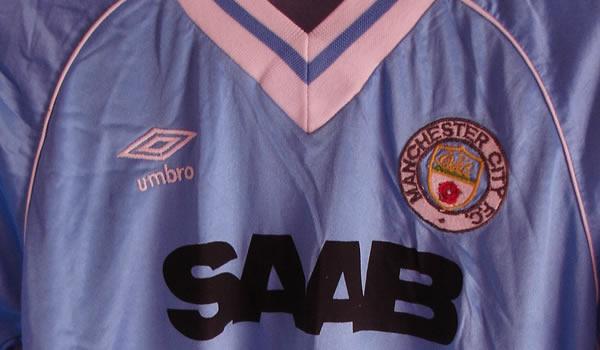 new arrival 614f5 c56f5 Ebay : Manchester City 81-83 Match worn Umbro shirt ...