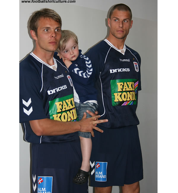 Aarhus unveiled their new away football kit for the 08/09 season made by Hummel
