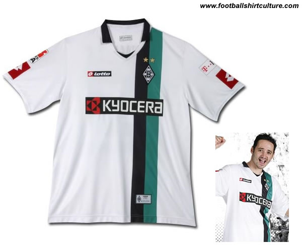 Borussia Mönchengladbach 08/09 Home lotto shirt