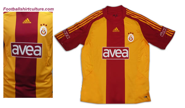 Galatasaray unveiled their new 08/09 3rd football shirt made by adidas in their club shop.