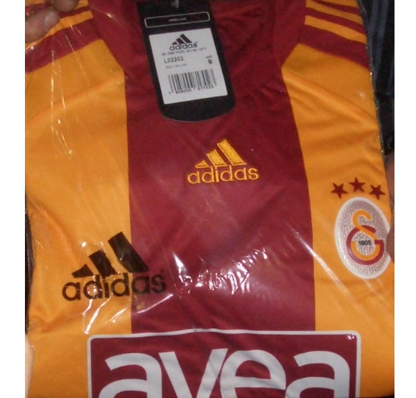 Galatasaray unveiled their new 08/09 3rd football shirt made by adidas in their club shop
