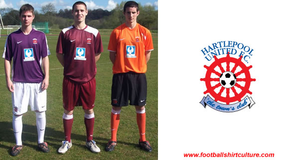 Hartlepool United launched a kit vote for the 08/09 season away kit made by Nike.