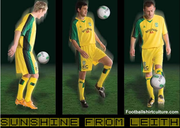 Hibernian launched a brand new 08/09 away kit made by Le Coq Sportif.