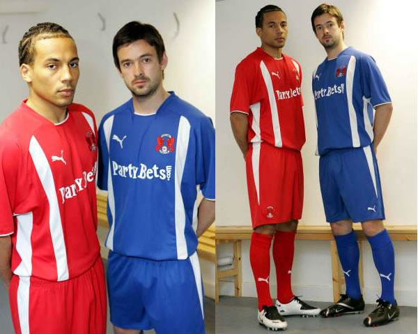 Leyton Orient have unveiled their new kits for the 2008/09 season after signing a four-year deal with sportswear giants PUMA