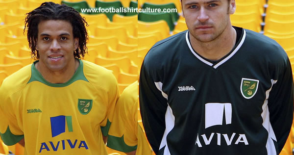 Norwich City is delighted to announce details of the new 2008 home and away kits.