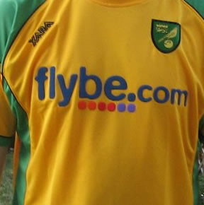 Low-cost airline Flybe is to end its sponsorship deal with Norwich City after two years.