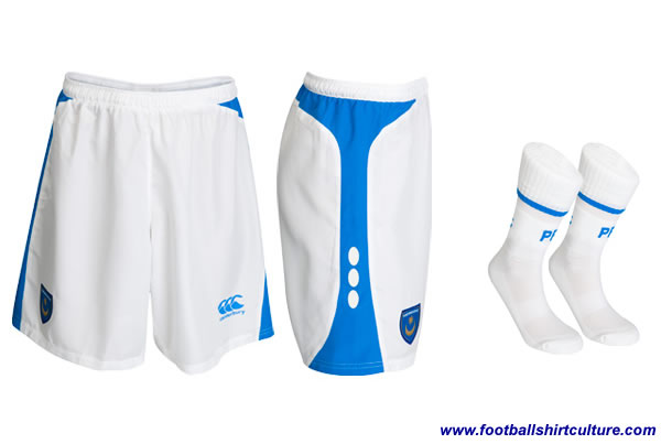 Portsmouth Canterbury Away shorts 2008/09