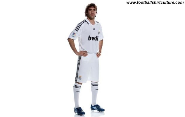 This is the new Real Madrid home kit for the 08/09 season.