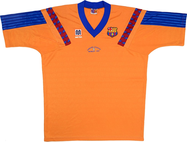 Meyba 1992 barcelona away 39 campions d 39 europa 39 shirt for 92 dream team t shirt