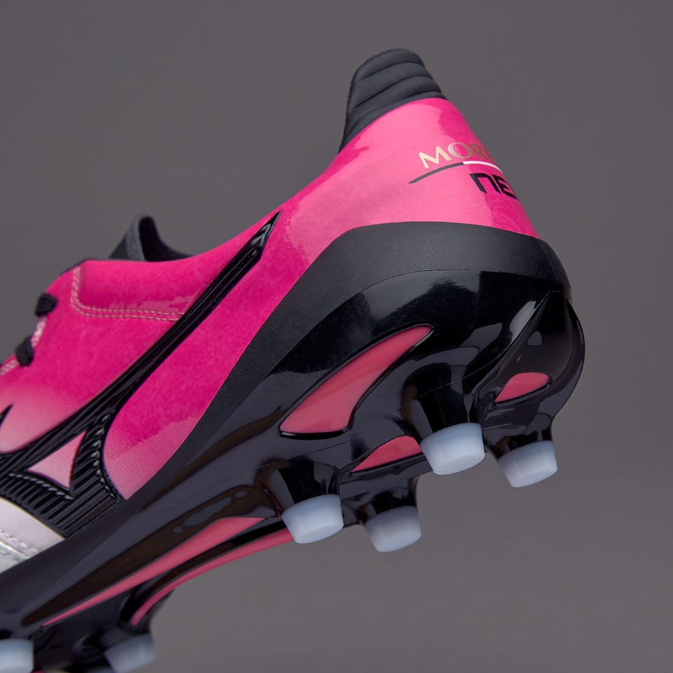 on sale 665f3 5558a ... discount mizuno morelia neo ii made in japan md pearl black pink glow  24fd8 a6a85