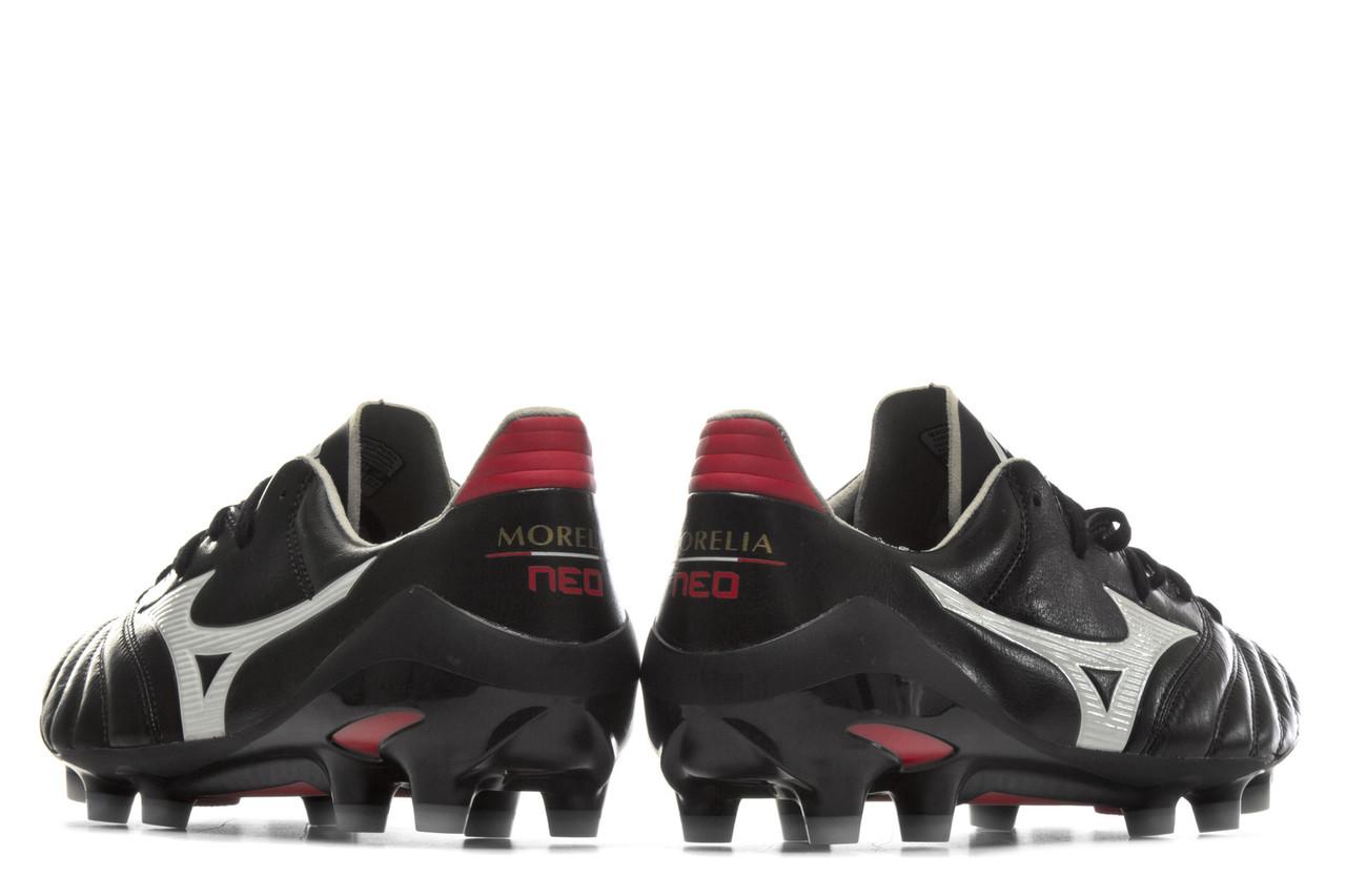 best service d71d4 b06fb Mizuno Morelia Neo II MD FG Football Boots - Black / White ...